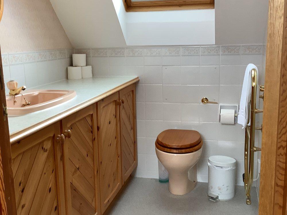Pindlers Upstairs shower room